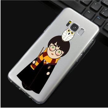 Harry Potter Case for Samsung S Series Harry and Owl  7