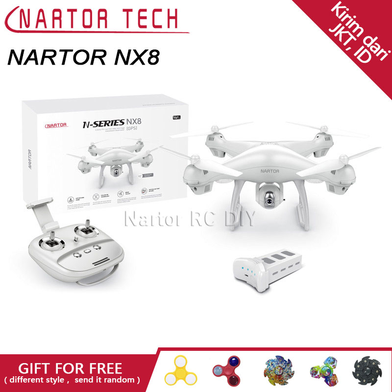 New Arrival Drone Nartor NX8 <b>GPS</b> Wifi FPV Camera Follow me VS ...