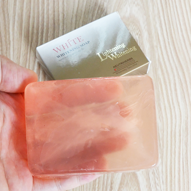 Face Whitening Wash Soap Beauty Handmade Anti Acne Soap Scented Soap Reduces Dark Spot Skin Care 2
