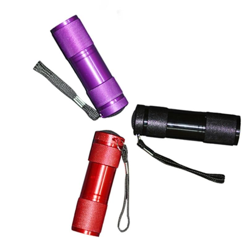 Rs Nail: RS NAIL Mini LED Flashlight For Nail Gel Polish 9W LED