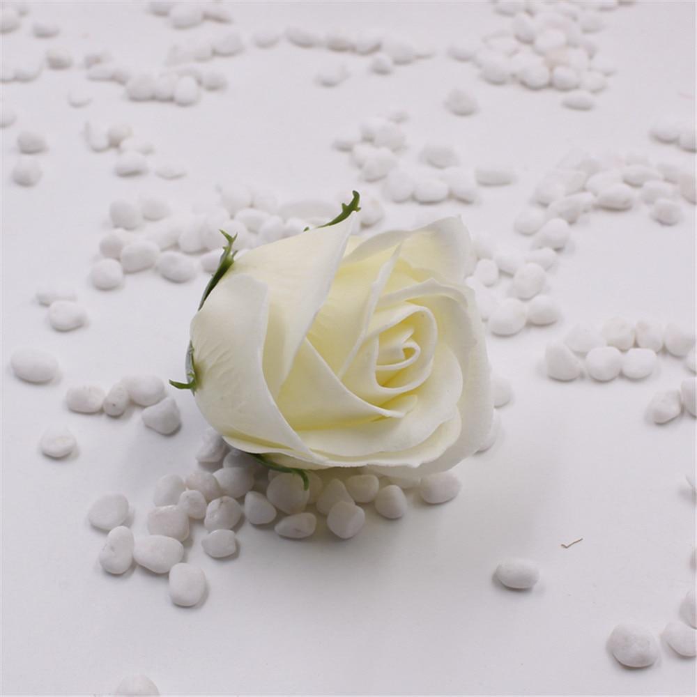 30pcs Lot Cheap Soap Head Romantic Rose Wedding Valentines Day