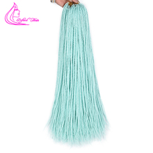 Refined Ombre Senegalese Twist 24inch Colored Crochet Braids Hair