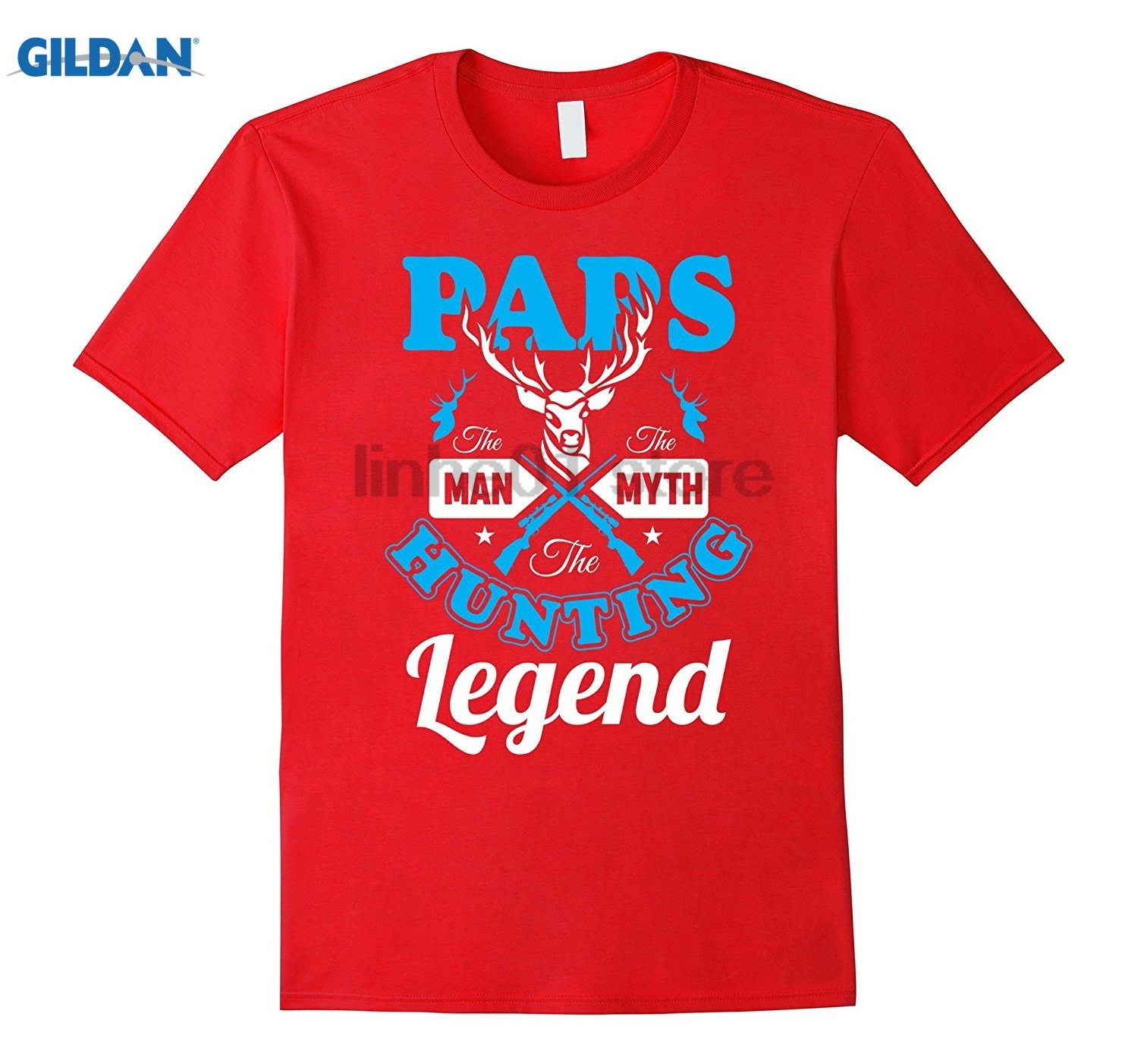 GILDAN Mens PAPS The Man The Myth The Legend T-Shirt glasses Womens T-shirt glasses Womens T-shirt