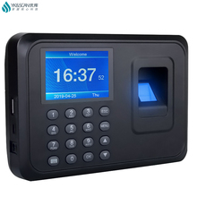 YK&SCAN Biometric Fingerprint Time Attendance Clock Recorder Employee Recognition Device Electronic 2 4 inch tft biometric fingerprint time attendance clock employee payroll recorder for company school