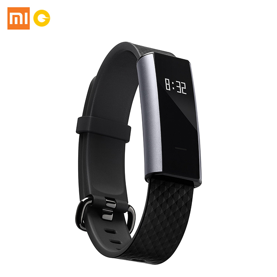 New Arrival English Version Xiaomi Amazfit A1603 Arc Activity, Heart Rate & Sleep Tracker with OLED Touchscreen, Black