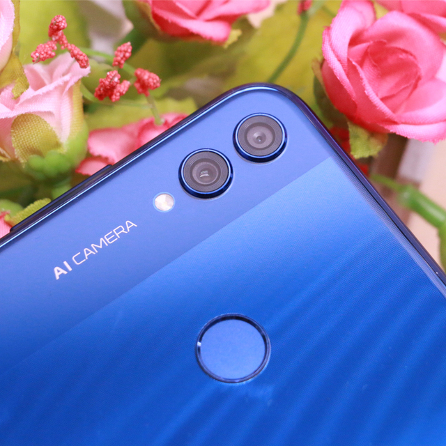 Huawei Honor 8X Global Version MobilePhone 6.5 inch Screen 3750mAh Battery OTA Update Dual Back 20MP Camera Smartphone