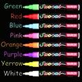 8 видов цветов хайлайтер 3 мм 6 мм флуоресцентная жидкость мел маркер ручка для школы Искусство Живопись подарок Канцтовары