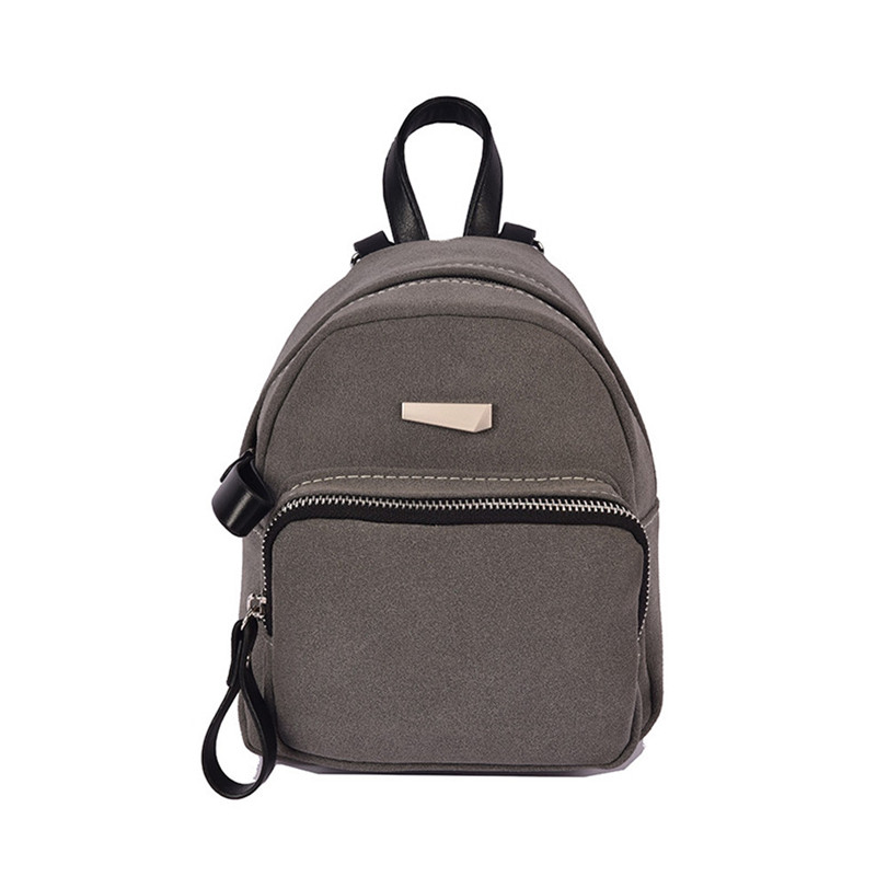 2017 women s backpack Casual Ladies Candy School Style Solid Student Mini Backpack student Girls mochilas