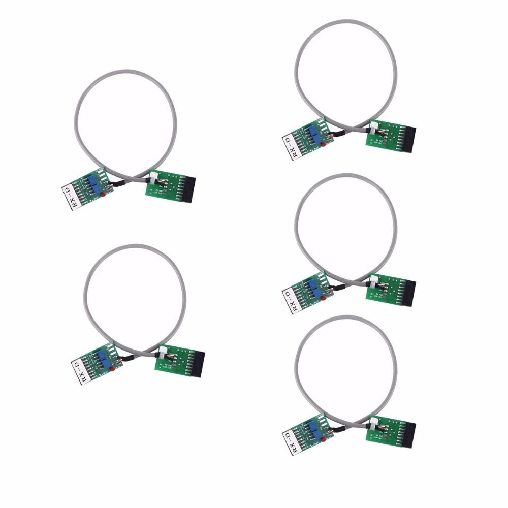 imágenes para 5 unids radio repetidor cable conector tx-rx tiempo de retardo para motorola gm300 gm338 gm3188 j6232a walkie talkie radio de dos vías