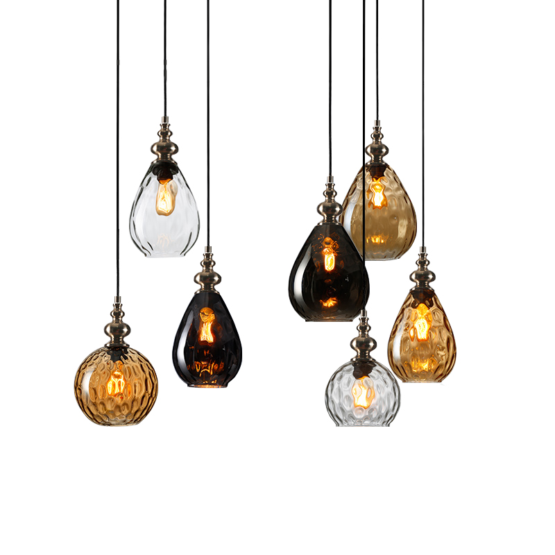 Free shipping Glass Droplight Edison Vintage Hanging Pendant Light Fixtures For Indoor Lighting With BulbsFree shipping Glass Droplight Edison Vintage Hanging Pendant Light Fixtures For Indoor Lighting With Bulbs