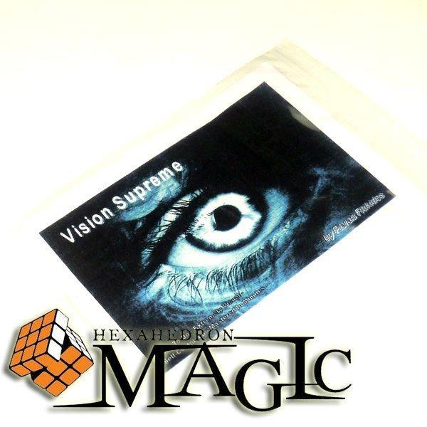 Visión Suprema por Pieras Fitikides/close-up MENTALISMO truco mágico/mayorista