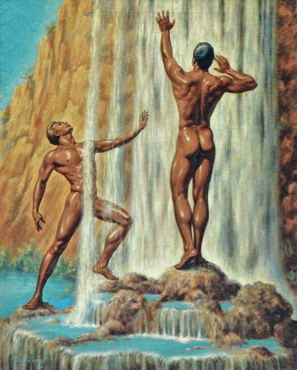 from Gary nude oil gay