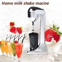 Único-cabeça comercial máquina de milkshake doméstico leite tampão máquina misturador leite cappuccinos leite frother gelado máquina de espuma