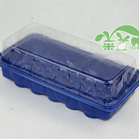 2set,15 hole box nursery pots seedling tray with 30mm jiffy nursery box,garden supplies.plasctic.seed starter Lahore