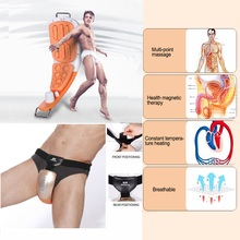 Electric Massager For Penis & Perineum Male Sexual Obstacle Stimulation Therapy - Alargador De Pene Easy To Wear