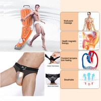 Electric Massager For Penis & Perineum Male Sexual Obstacle Stimulation Therapy Alargador De Pene Easy To Wear