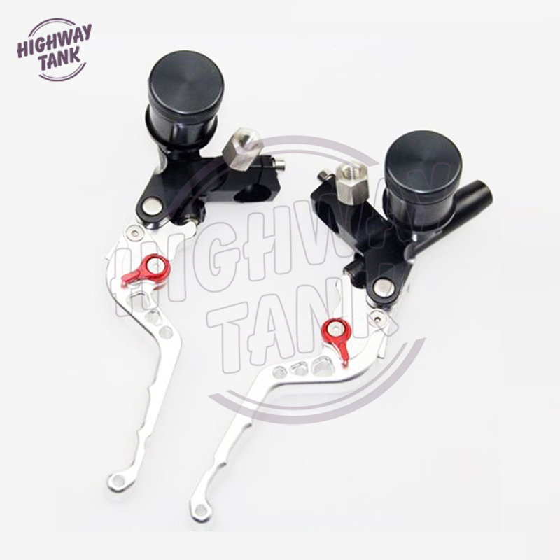 7/8 22 мм универсальный стандарт CNC алюминиевые Мотоциклы Рычаги сцепления комплект главный цилиндр руль