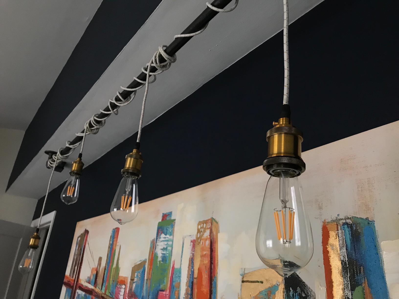 kit luz para casa corredor estúdio escritório quarto