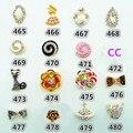 5pcs Women Nail Patch Crystal Art Sticker false Gem Shiny Fingernail Lady Manicure
