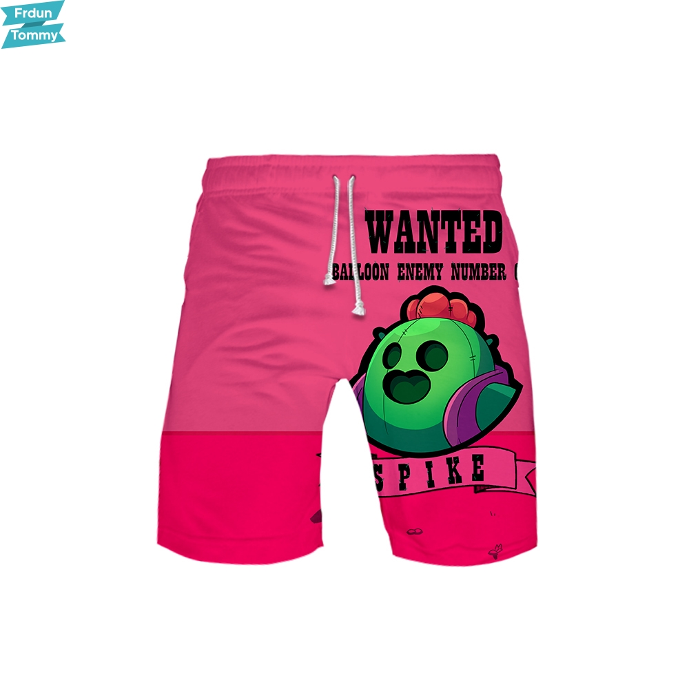 Brawl Sterren 3d Spel Shorts Mannen Strand Shorts Sweatshirt Harajuku Trainingspak Hawaii Brawl Sterren Shorts Drop Schip Om Gezondheid Effectief Te Stimuleren