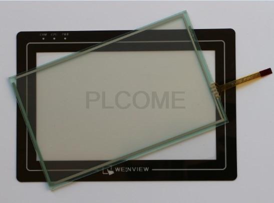 Nova tela de toque de vidro película protetora 164*104 para weintek weinview mt8070ip mt8070ih3 mt8070ih5 mt8070ih5wv touchpad painel hmi