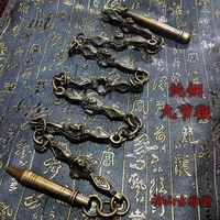 Chinese martial arts Whip Nine Copper Lion head Whips to Exercise Gong Whips