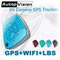 V42 GPS + WIFI + LBS трекер камера слежения в реальном времени поддержка истории маршрута гео-забор SOS фото трекер