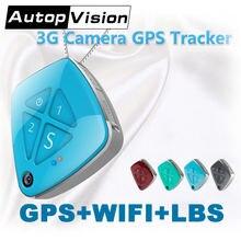 V42 gps + wifi lbs трекер камера слежения в реальном времени