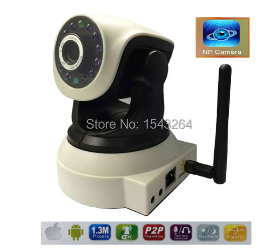 720P TF-Card IP wireless Camera Support 2-Way Intercom for smart home life with PTZ 360/120 baby monitor Mobile Remote Camera