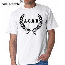 0c1f7cf56 Acab T Shirt A C A B Football ACAB Soccer T-Shirt Men Print Tee Shirt 100  Cotton