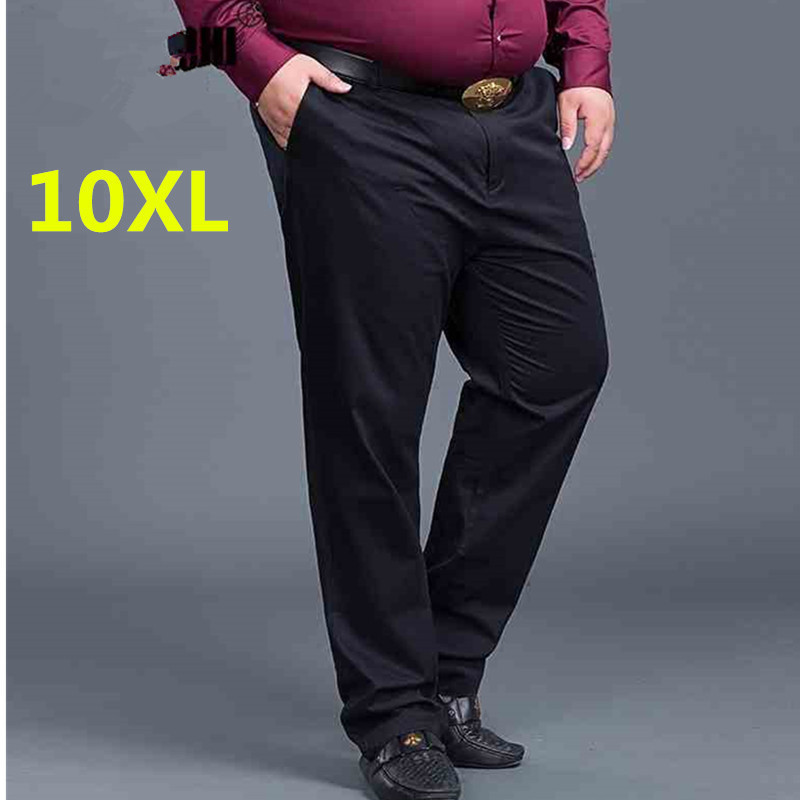 high quality new big size New Arrival Mens Casual Business Pant Stretch trousers regular Straight Pant Black Blue Khaki worksuit