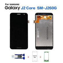 Voor Samsung Galaxy J260 SM-J260 Lcd-scherm + Touch Screen Helderheid Pancel J2 Core SM-J26 J260F J260FN lcd(China)