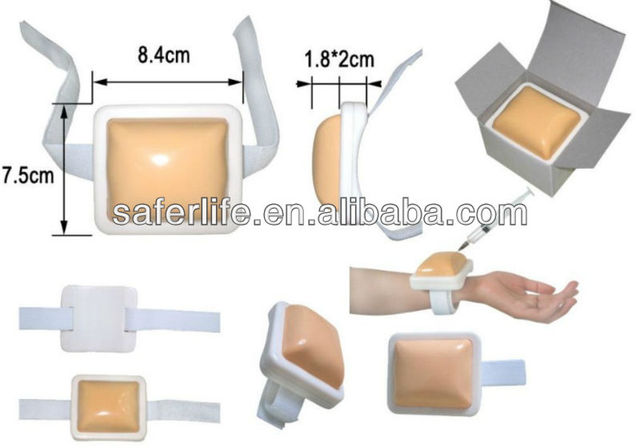 d91e7ab839 10% off Training supplies practice Promotional gift medical plastic  injection pad Faux skin 2.5cm