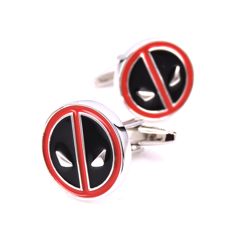 WN superhero spider-man Star Wars film classic superman cufflinks French shirts cufflinks novelty gift free shipping image