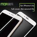 MOFi 3D Полное Покрытие Из Закаленного Стекла Протектор Экрана для iPhone 6 6 S 4.7 Стеклянной Пленки 2016 Новый Цвет Стекла Замена для Apple 6 s
