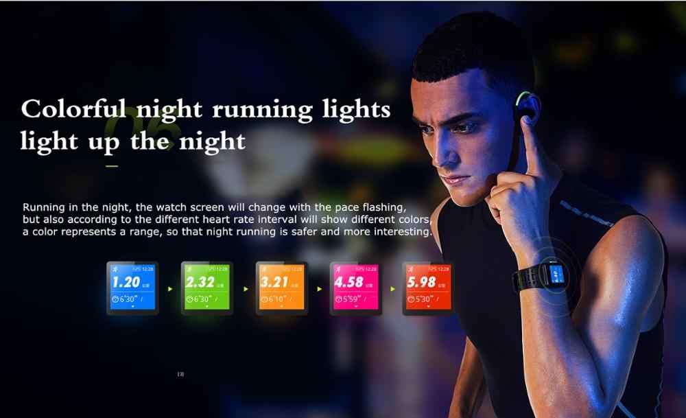 2019 IWOWN P1 IP68 GPS Wrist Watch ECG HRV Monitor Heart Rate Monitor Sleep Monitor Sports Smart watch smart wristban