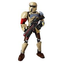 LEPIN Star Wars Mini blocks Darth Vader White Storm Trooper General Grievous Figure toys building blocks christmas Rogue One