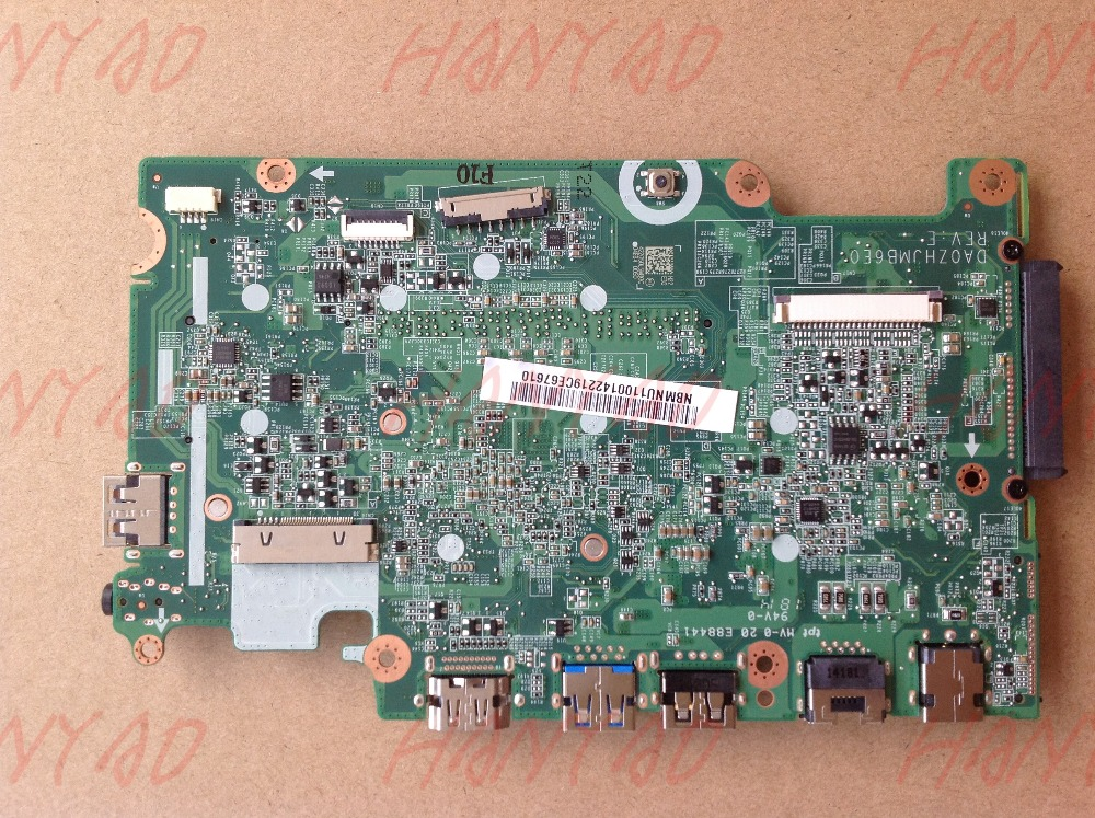 DA0ZHJMB6E0 For ACER E3 111 Laptop Motherboard NBMNU11001 With N2830 CPU MainBoard 100 Tested Fast Ship in Laptop Motherboard from Computer Office