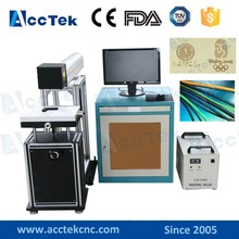 Hot sale good quality leather laser marking machine, jewelry laser marking system