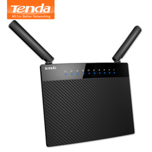 Tenda AC9 1200Mbps Smart Dual Band Wireless WI-FI Router,WiFi Repeater,2.4GHz/5GHz 802.11AC Router, USB2.0 Remote Control APP(China (Mainland))