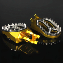 Motocross CNC Aluminum off-road Foot Pegs For Honda CR Series CR125 CR250 CRF150R CFR250X CRF450X CFR250R CRF450R