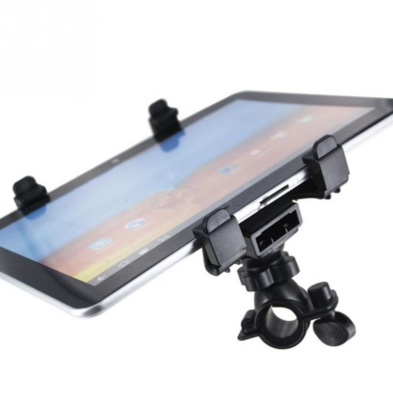 Universal 7-11 inch Adjustable Microphone Music Bike Bicycle Mount Stand Holder For Tablet PC цена и фото
