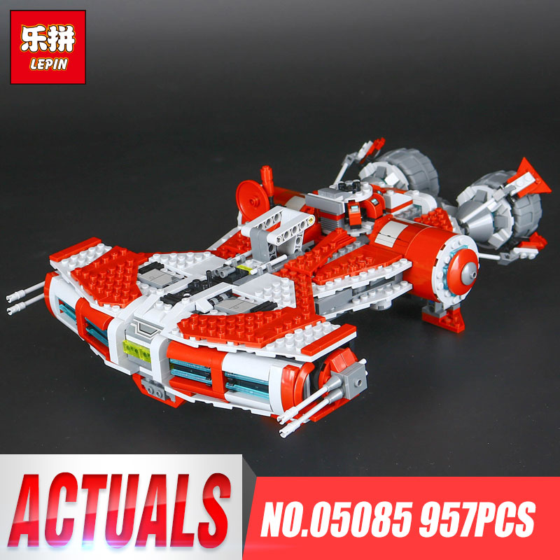 LEPIN 05085  957Pcs Star Series Wars Children Educational Building Blocks Bricks Toys Model Gift 75025 educational Boy Toys Gift lepin 02012 774pcs city series deepwater exploration vessel children educational building blocks bricks toys model gift 60095
