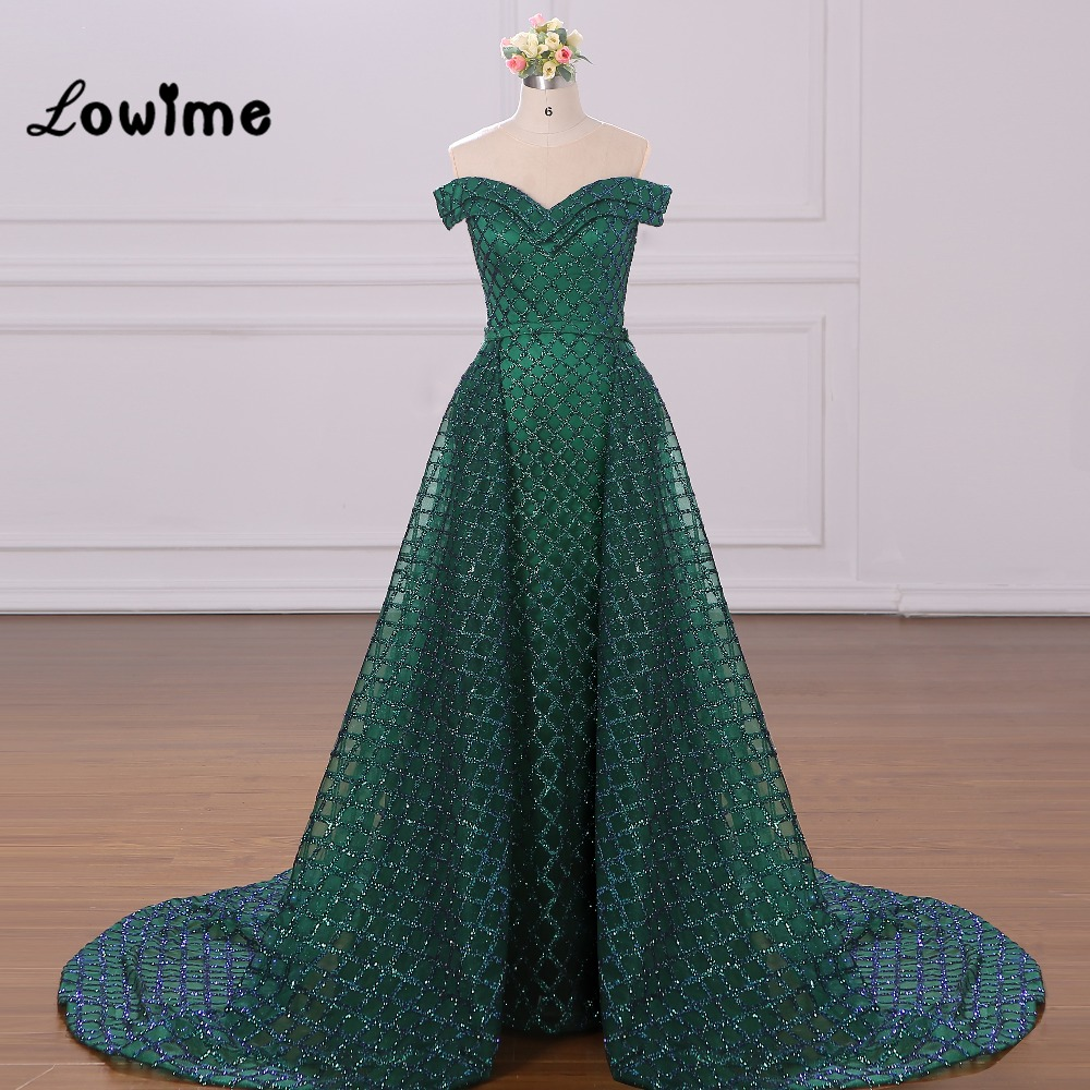 Two Pieces Evening Dresses Robe De Soiree Custom Made Arabic Women ...