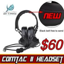 купить (Z 041)Earphone Element Z-Tactical Comtac II Headset Airsoft Paintball Hunting Headset Tactical Headset по цене 1461.54 рублей