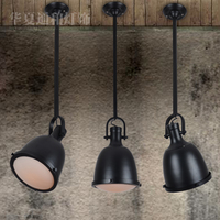 Nordico Vintage Industrial Pendant Light Retro RH LOFT American Country Lampse E27 Led Hanging Lights Bar