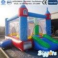 Castelo Estilo Biggors Inflável Mini Bouncer para Crianças Jogando Para O Aluguer de