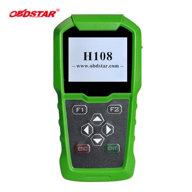 OBDSTAR H108 PSA מתכנת תמיכה כל מפתח איבד תכנות/פין קוד קריאה/אשכול לכייל עבור פיג ו/סיטרואן/DS