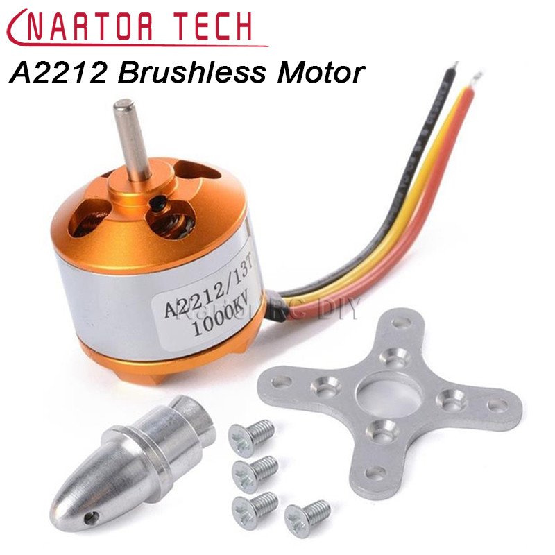 XXD A2212 Brushless Motor 1000KV For RC Aircraft Plane Multi-copter Brushless Motor Free Shipping a2212 6t 2200kv brushless motor set for r c toy golden silver