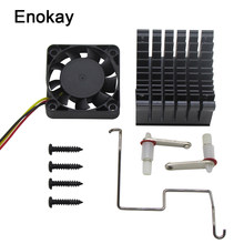 2 Pcs Lot Enokay 40X40X10 Mm Koelventilator Heatsink Diy Northbridge Koeler South North Bridge Radiator voor Pc Computer(China)